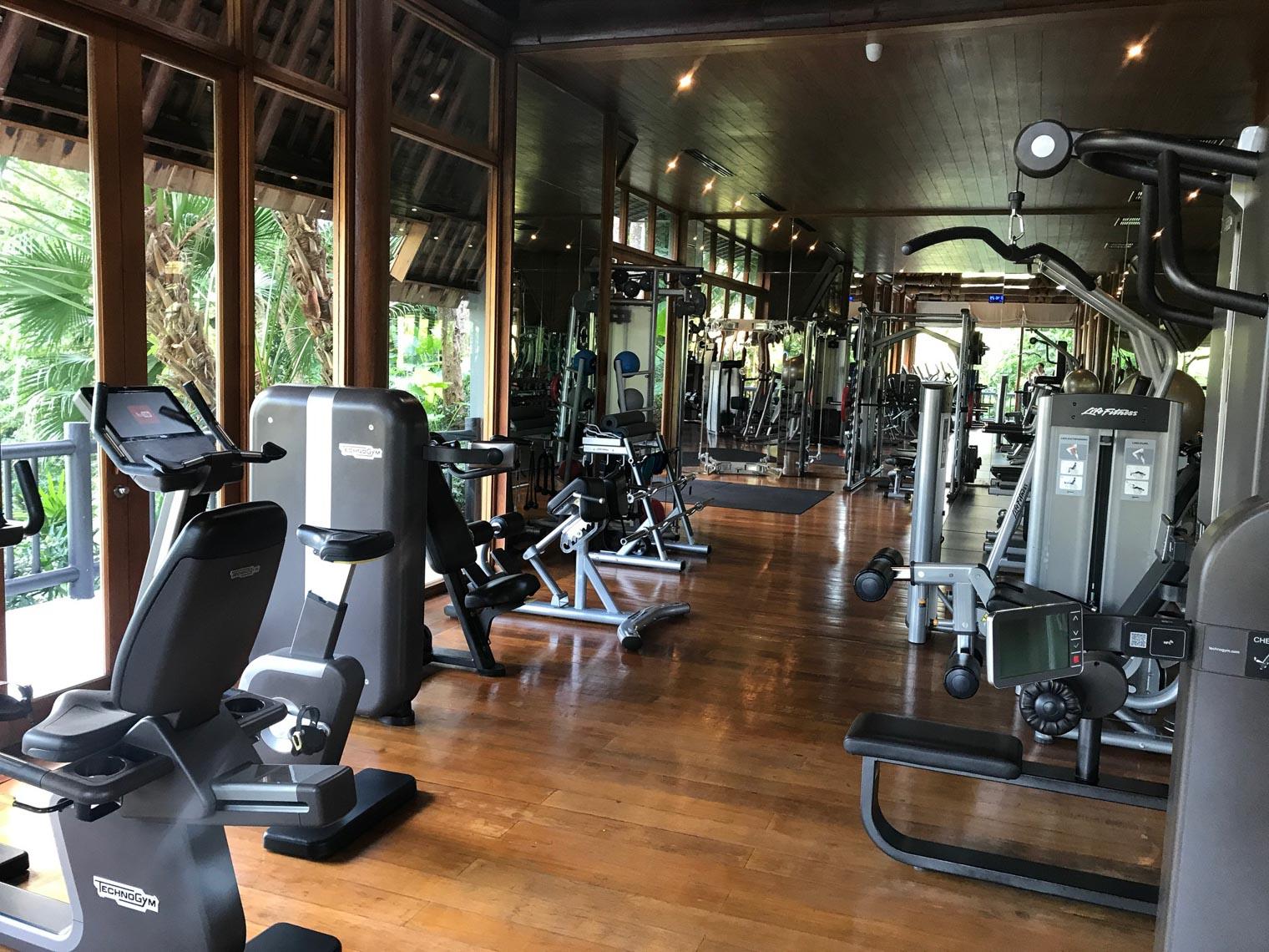 Gym at Four Seasons Koh Samui