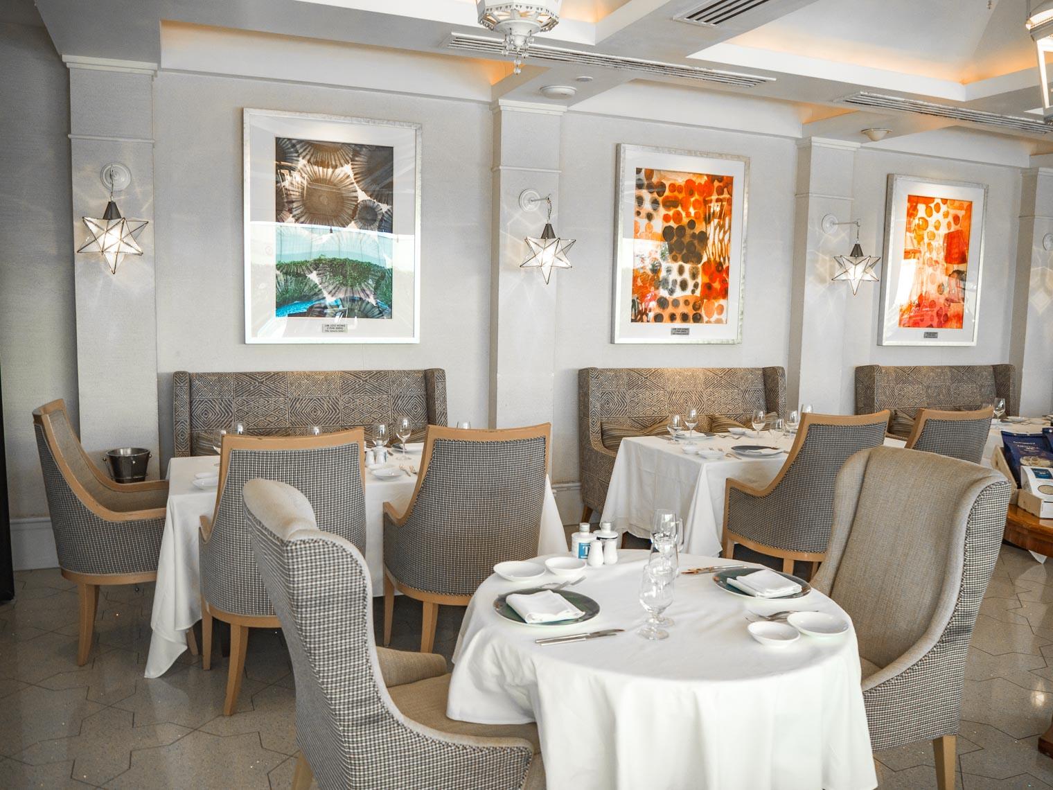 La Brezza Italian restaurant St Regis hotel Singapore