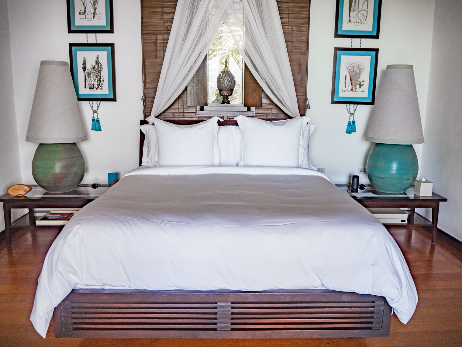 Bedroom at Private villa at Four Seasons Koh Samui