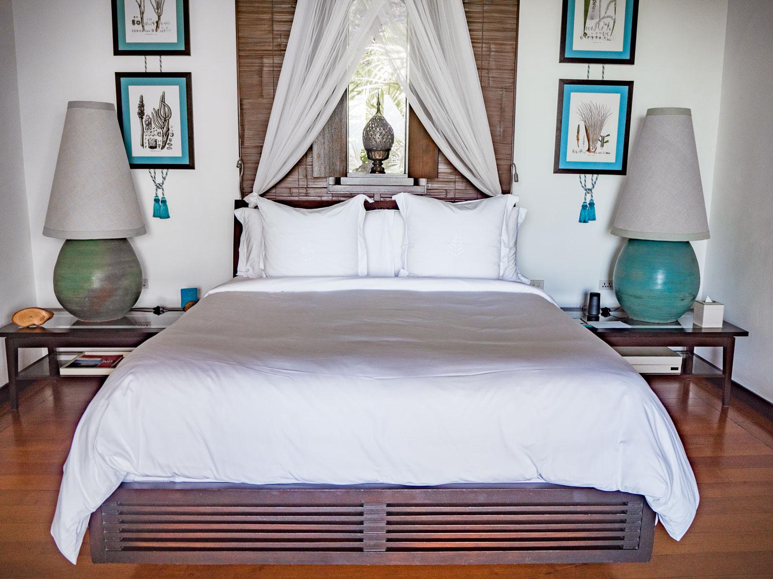 Bedroom at Private villa at Four Seasons Koh Samui