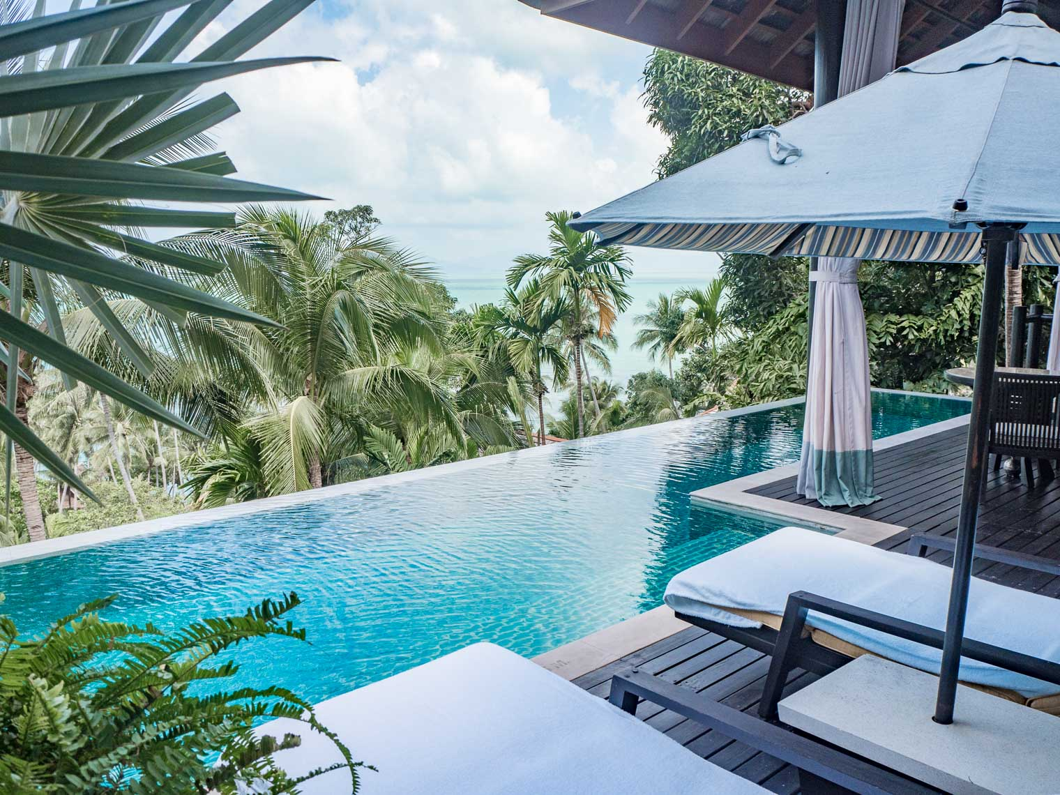 Four Seasons Koh Samui Thailand private villa pool