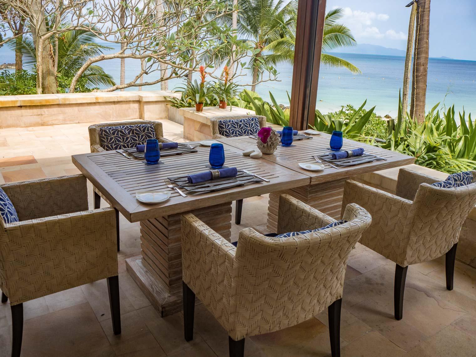 Restaurant at Four Seasons Koh SAmui