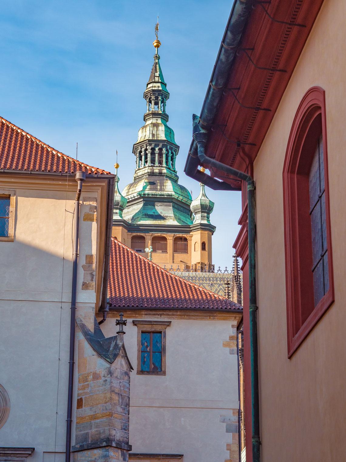 Prague Castle streets