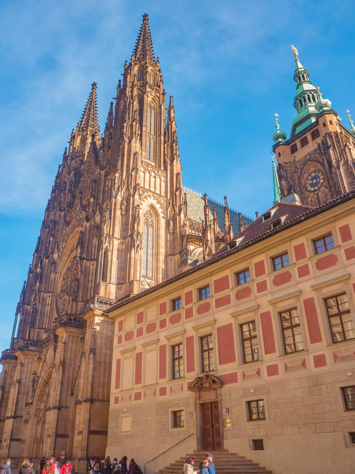 St Vitus Church at Prague Castle