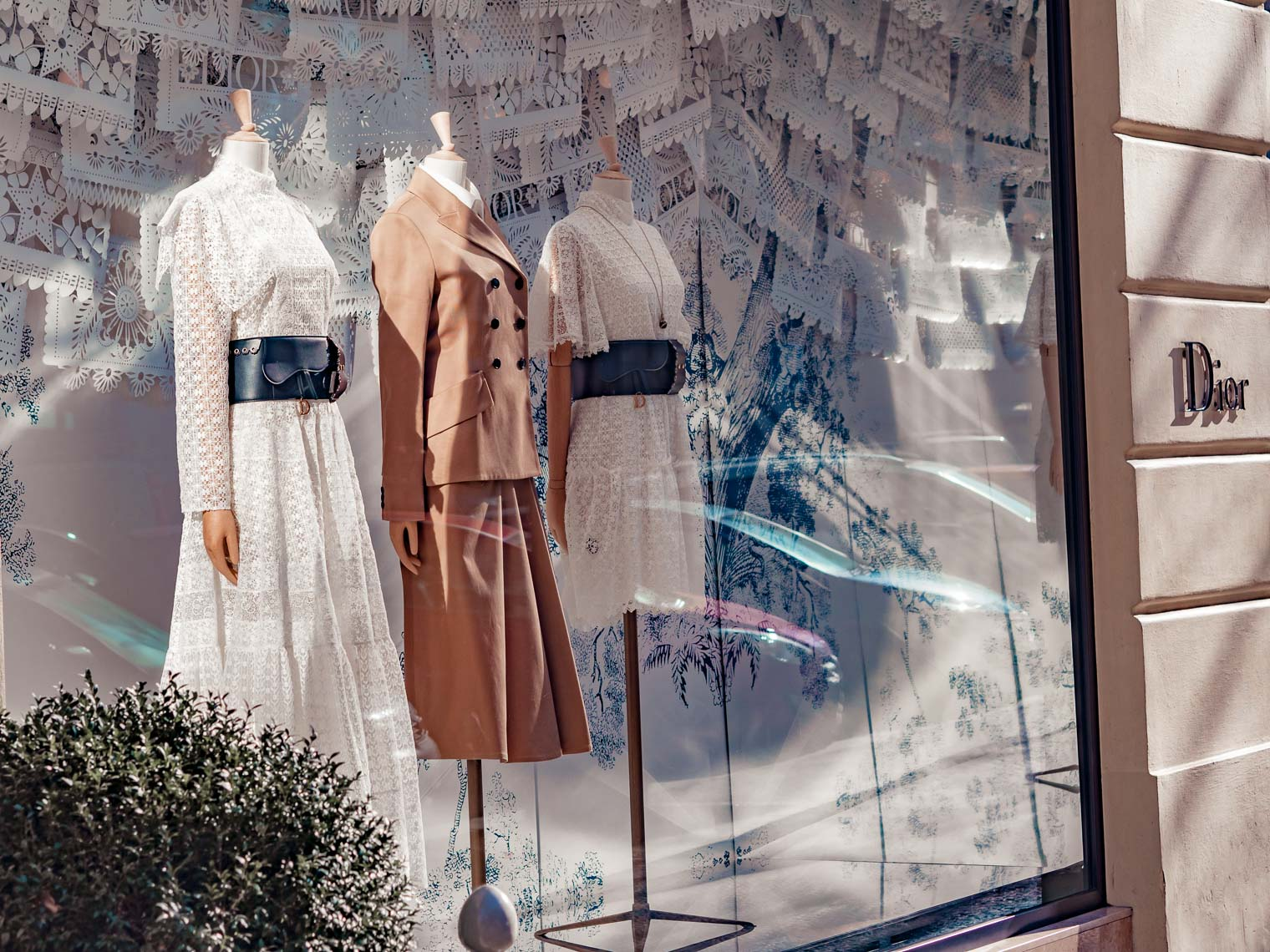 Dior shop in Prague Parizska street