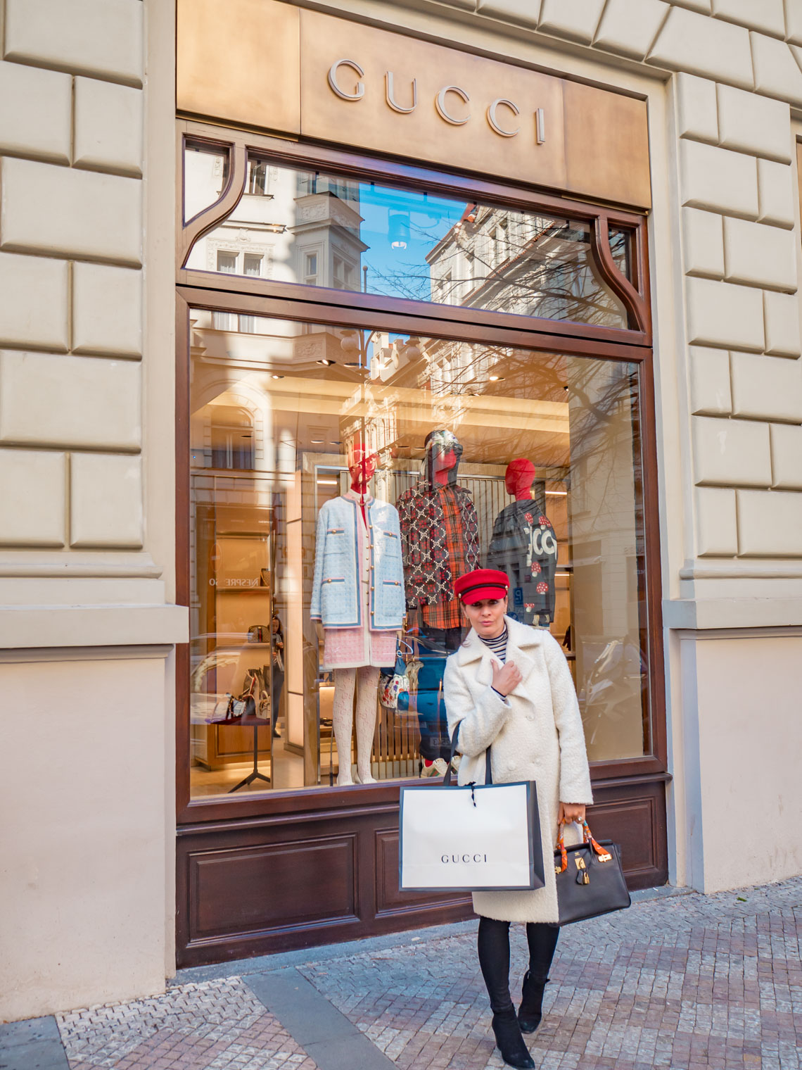 Gucci at Parizska street Prague