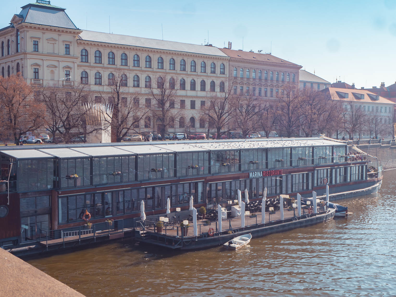 Marina restaurant in Prague