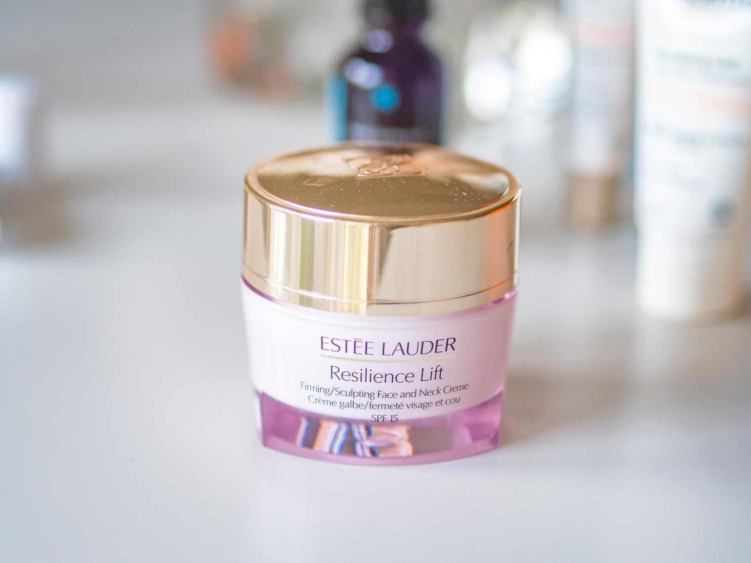 Estee Lauder resilience lift cream