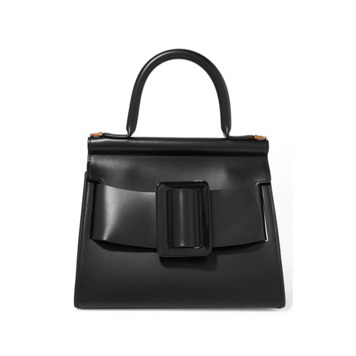 Boyy top handle black handbag