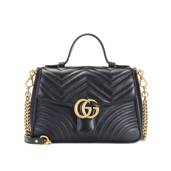 Gucci GG Small Marmont black shoulder bag