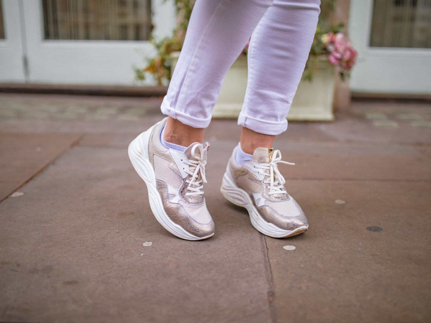 Best thing to buy this month: Chunky trainers that you will wear all year round