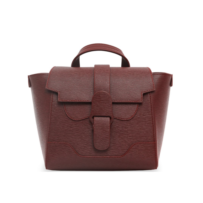 Senreve Mini Maestra bag burgundy