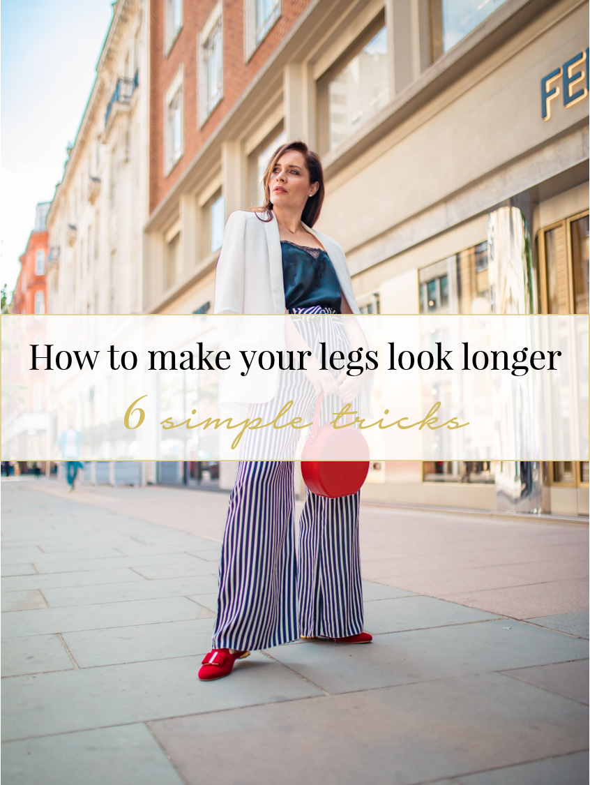 How to make your legs look longer with 6 tricks