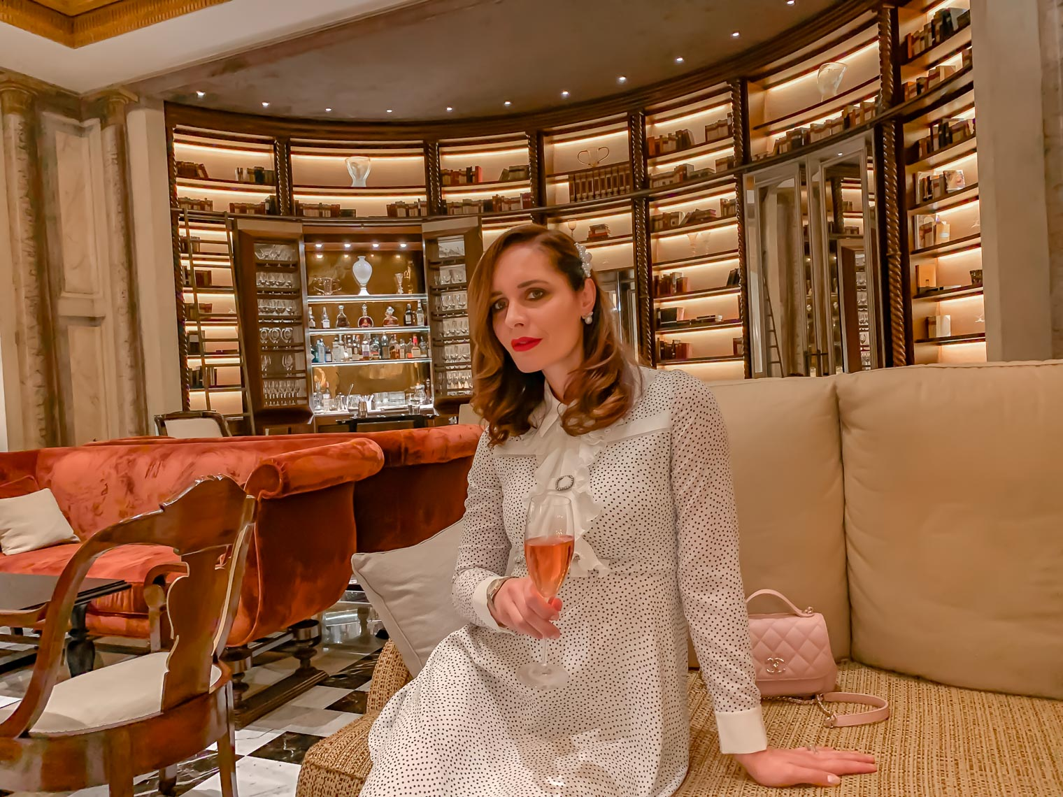 Petra Brisby at Hotel Eden Rome Dorchester Collection Italy