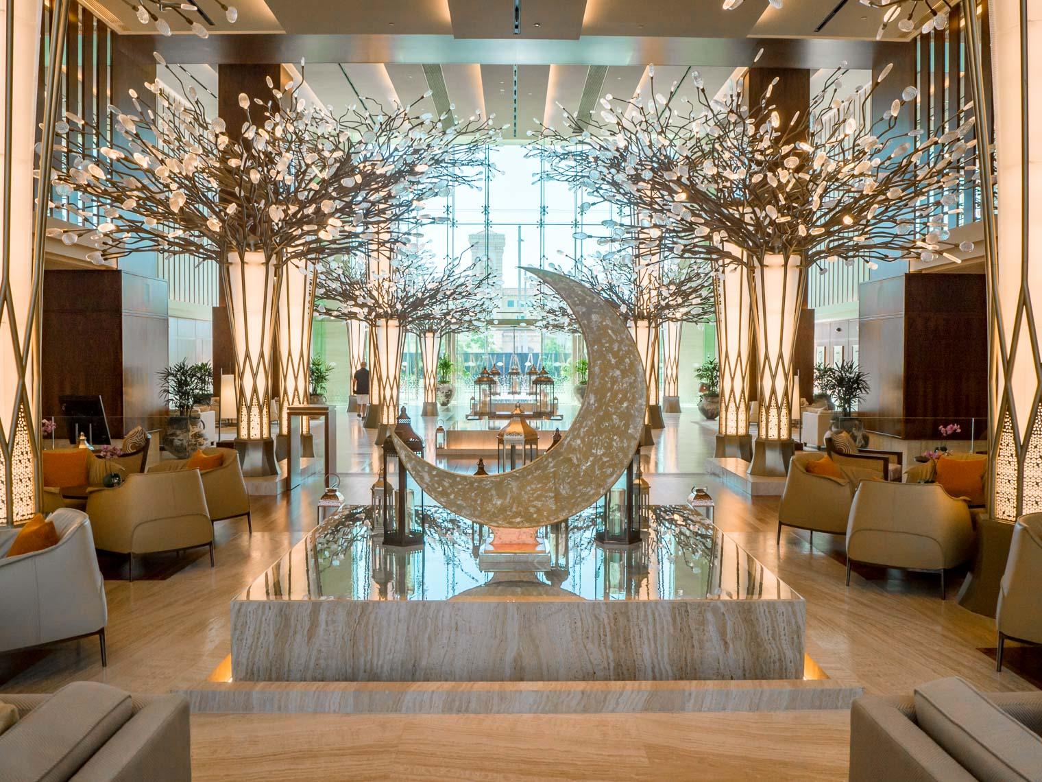 Mandarin Oriental Dubai interiors