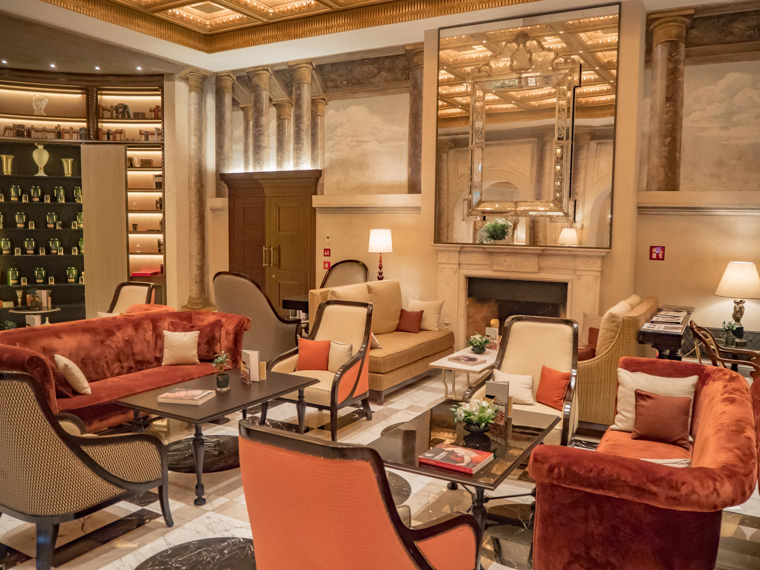 Hotel review Hotel Eden Rome Dorchester collection