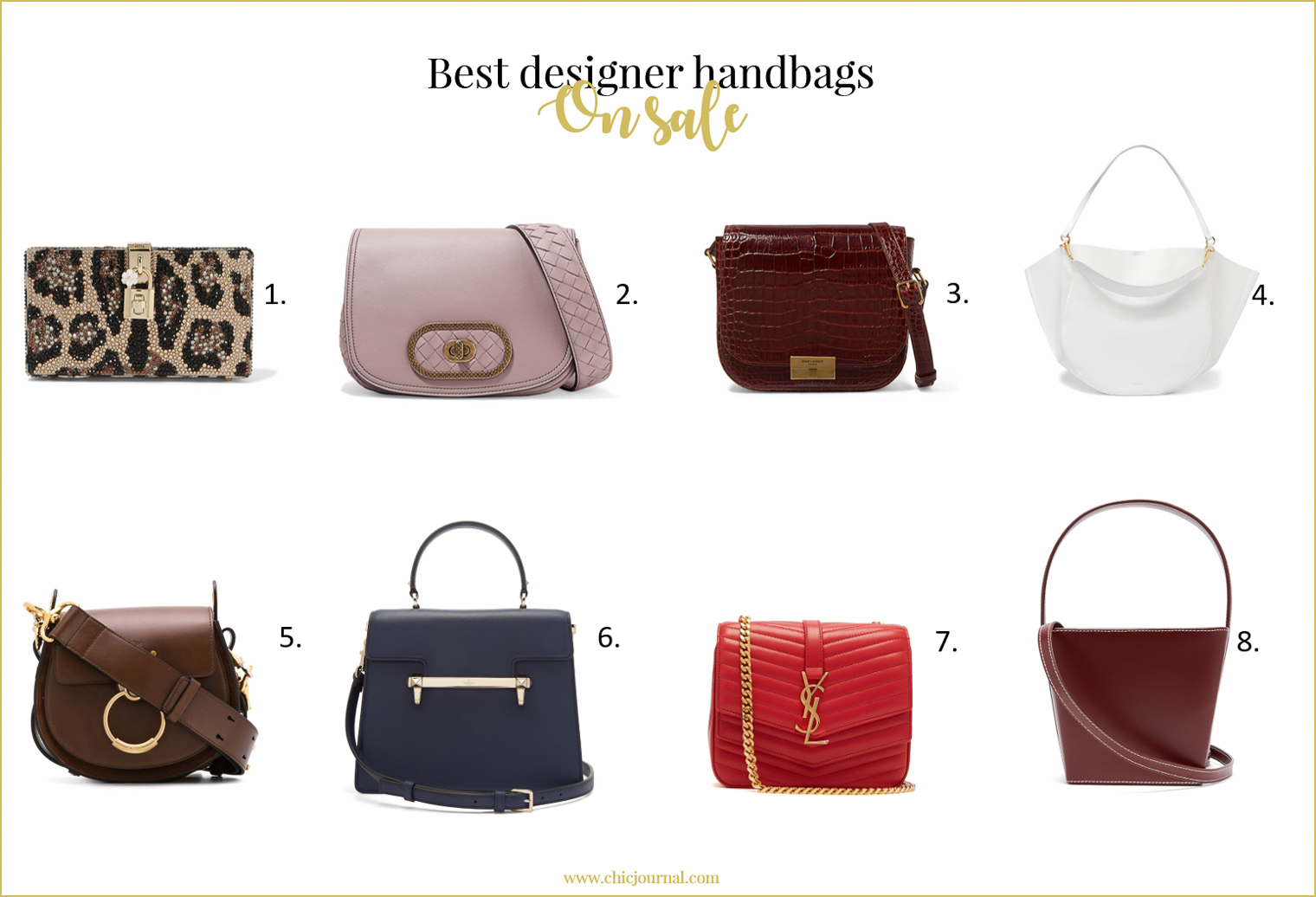 Best designer handbags in summer sales