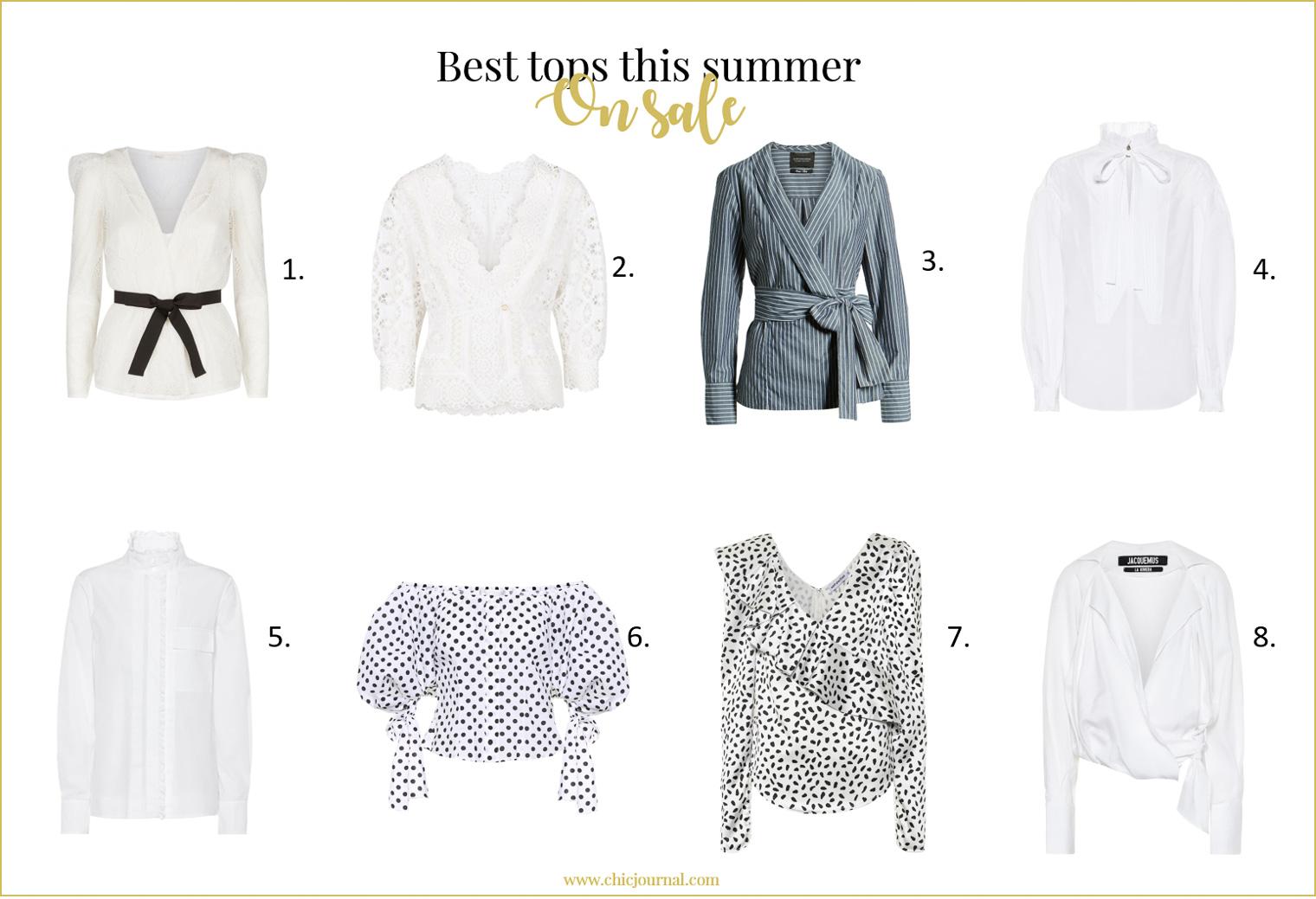 Best tops is summer sales