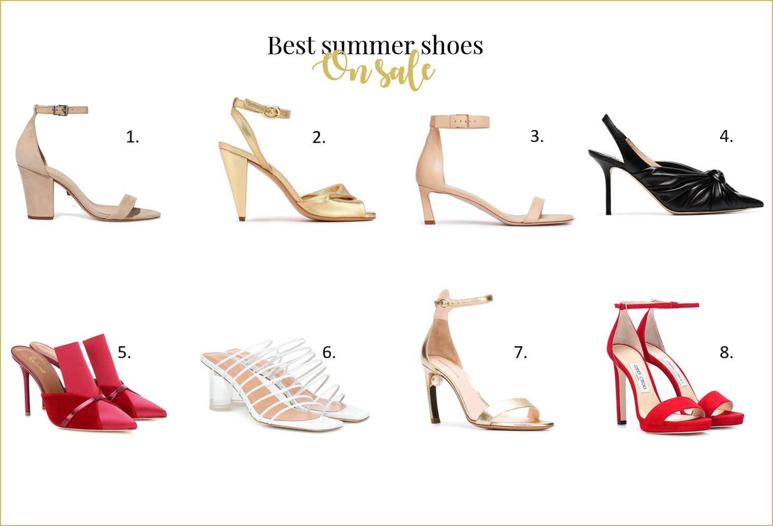 Best shoes in summer sales