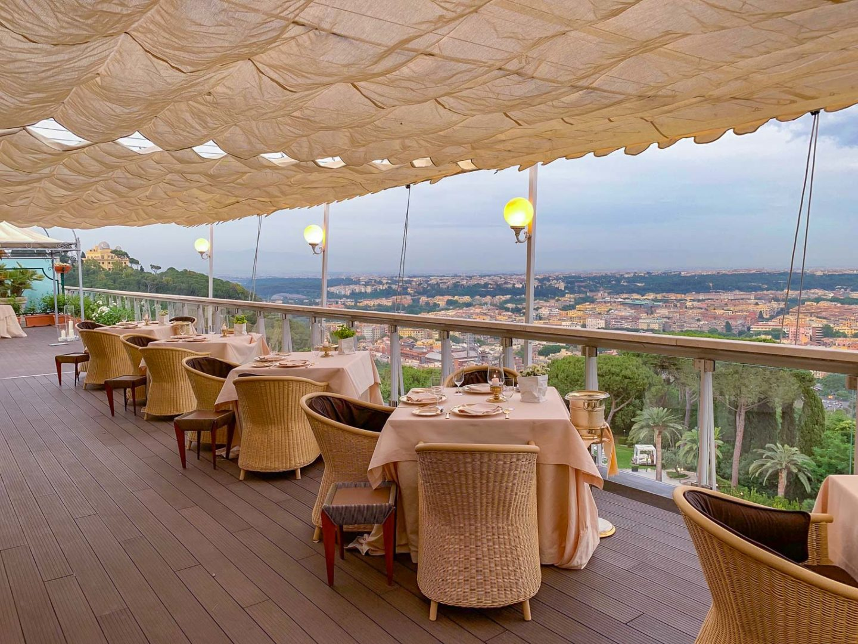 Restaurant review: 3 Michelin stars, La Pergola Rome