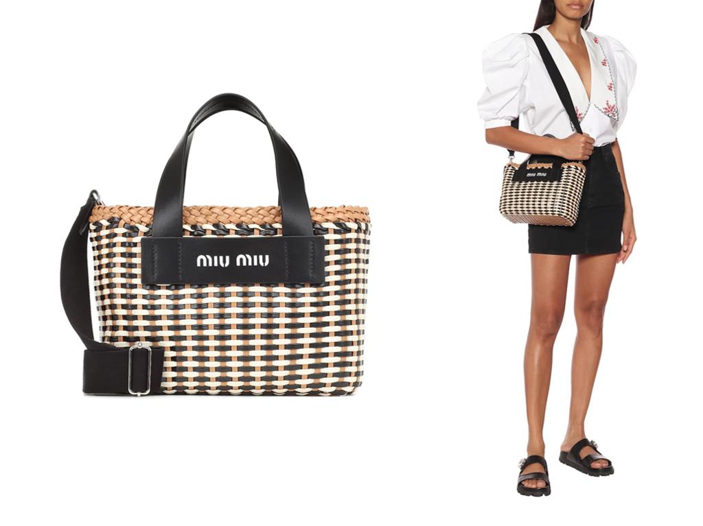 Biggest handbags trends for 2020 woven bags