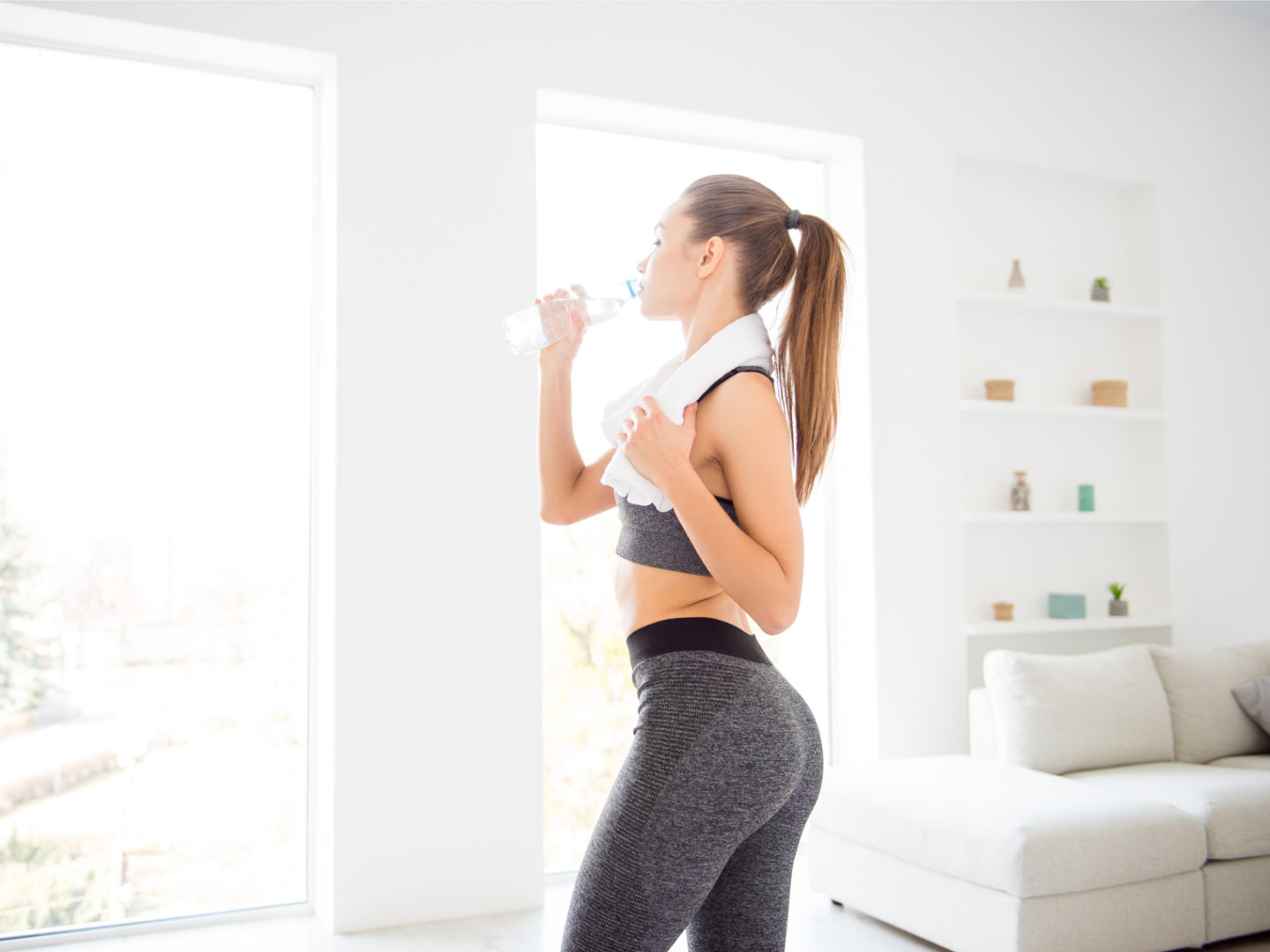 How to stay fit at home and without a gym