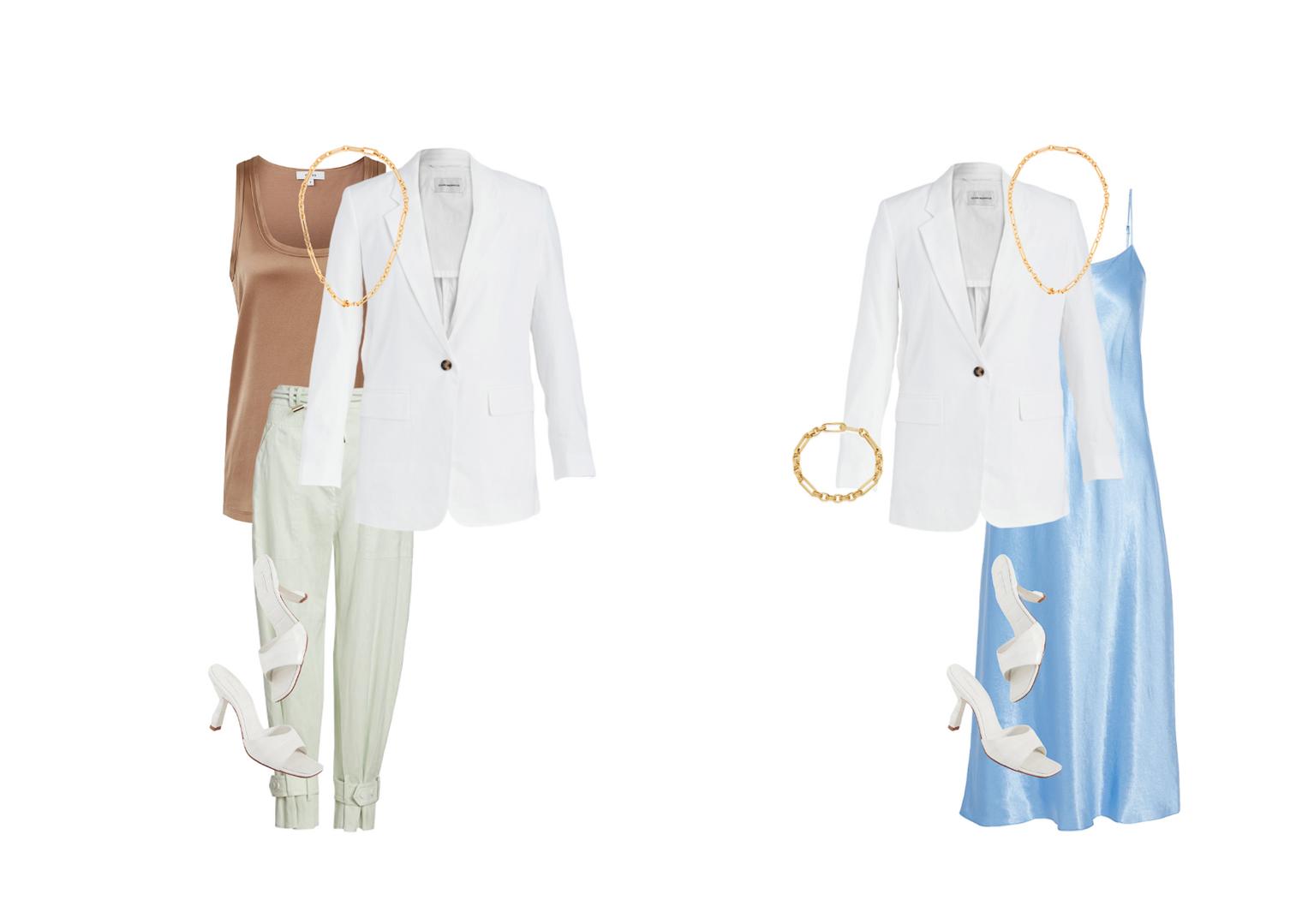 Stylish summer capsule wardrobe looks for the city