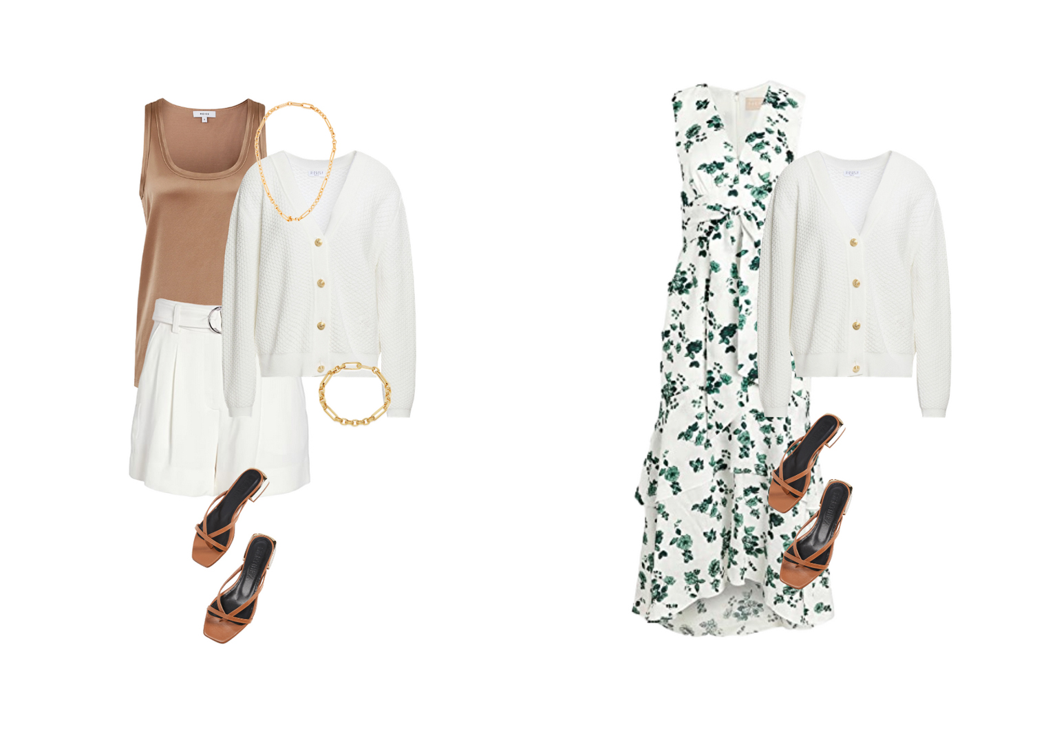 Summer capsule wardrobe for the city inspiration