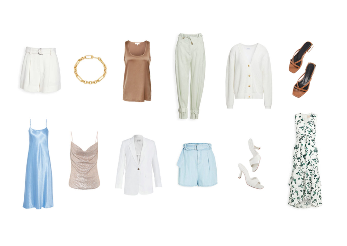 Chic summer capsule wardrobe for the city plus 12 outfits for inspiration
